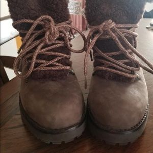Brown Winter UGG boots